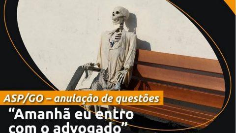 TRIBUNAL DE JUSTIÇA DE GOIÁS ANULA LIMINARMENTE 10 QUESTÕES DO CONCURSO ASP GO E AUTORIZA CANDIDATO A PROSSEGUIR NAS DEMAIS FASES DO CERTAME
